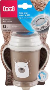 Чашка для детей от 12мес №1/599 Buddy Bear Lovi 1шт