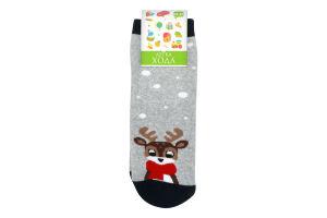 Шкарпетки дитячі Легка хода №9251 18-20 срібло меланж