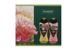 Набор Гель для душа Макадамия-пион 250мл+Гель для душа Инжир-белая орхидея-масла 250мл Роскошь Масел Palmolive 1шт