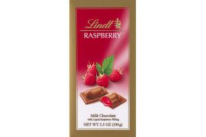 Lindt Raspberry Milk Chocolate