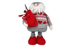 Украшение новогоднее декор Дед Мороз 106см Y*1