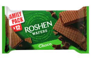 Вафли Roshen Wafers шоколад ВКФ 216г /11шт