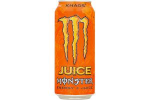 Monster Energy + Juice Khaos