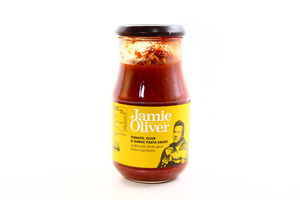 Соус для пасты Томаты, оливки и чеснок Jamie Oliver с/б 400г