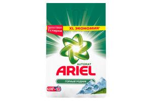Порошок стиральный Automat Горный родник Ariel м/у 4,5кг