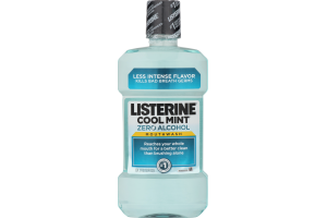 Listerine Zero Alcohol Mouthwash Cool Mint