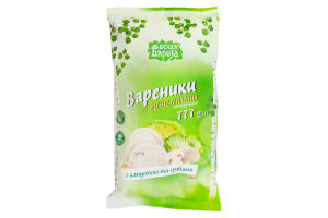 Вареники з капустою та грибами 777г /Бэлая Бяроза/