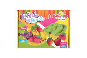 Набор для лепки для детей от 5 лет №71201 Мистер Тесто - Mini Fruit Strateg 1шт