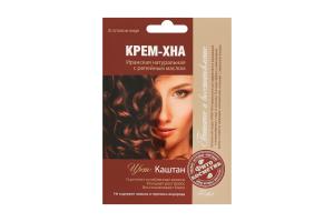 Крем-хна Каштан FitoКосметик 50мл