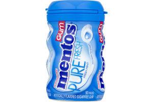 Mentos Pure Fresh Sugarfree Gum Fresh Mint - 50 CT