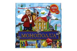 Гра настільна для дітей від 8років Монопол.ua Київська Фабрика Іграшок 1шт