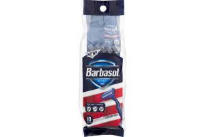 Barbasol Pivot Twin Razors - 10 CT