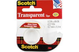 "Scotch Transparent Tape 1/2"""