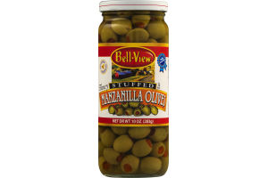 Bell-View Manzanilla Olives Stuffed