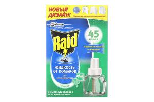 Средство от комаров для электрофумигата Эвкалипт 45ночей Raid