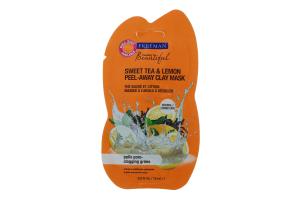 Маска для лица глиняная Сладкий чай и лимон Feeling Beautiful Freeman 15мл