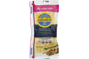 Jarlsberg Lite Reduced Fat Swiss Cheese Deli Sliced