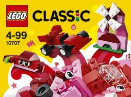 LEGO® Classic Красный набор для творчества 10707