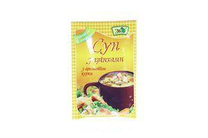 Суп быстрого приготовления с гренками с ароматом курицы Эко м/у 20г