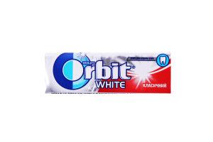 Резинка жевательная без сахара с ароматом мяты Классический White Orbit м/у 14г