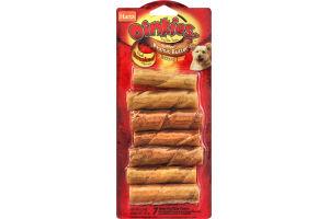 Hartz Oinkies Mini Pig Skin Twists Stuffed With Peanut Butter
