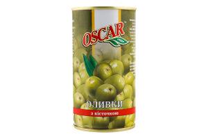 Оливки с косточкой Oscar ж/б 350г