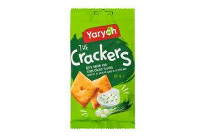 Крекер зі смаком цибулі та сметани The Crackers Yarych м/у 80г