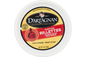 D'Artagnan Traditional Rillettes Country-Style Duck Spread