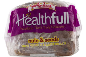 Brownberry Healthfull 100% Whole Grain Bread Nuts & Seeds