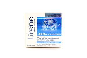 Гель-крем для лица ультра увлажняющий легкий Aqua Cristal Lirene 50мл