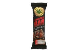 """Батончик - мюслі ТМ """"Cannabis Bar"""" з мигдалем + насіння канабісу"""