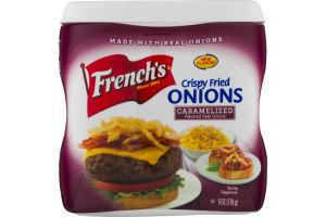 French's Crispy Fried Onions Caramelized
