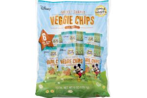 Good Health Veggie Chips Mickey Shaped - 6 CT