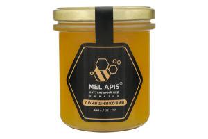 Мед подсолнечный натуральный Mel Apis с/б 400г