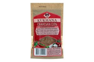 Смесь пряно-ароматическая с копченой паприкой Cванская соль Kukhana м/у 100г