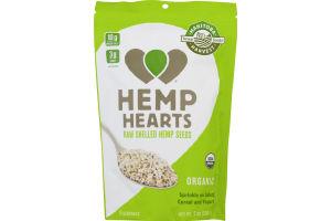 Hemp Hearts Raw Shelled Hemp Seeds Organic