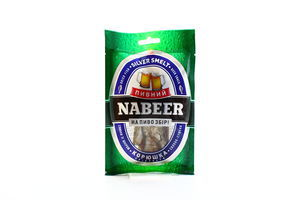 Корюшка серебристая солено-сушеная спинки с/ш Пивний Nabeer м/у 30г