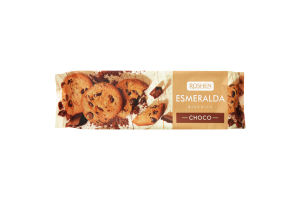 Печиво Roshen Есмеральда з Шоколадними шматочками 150г
