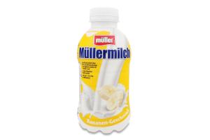 Напиток молочный Mullermilch банан 1,5%