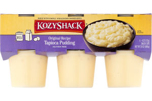 Kozy Shack Tapioca Pudding Original Recipe - 6 CT