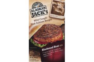 Alaskan Jack's Wild Caught Pink Salmon Burger - 4 CT