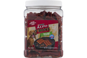 Purina Alpo T-Bonz Dog Treats BBQ Pork Flavor