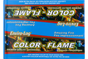 Enviro-Log Color Flame