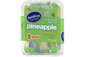 Sunkist Pineapple Wedges - 5 CT