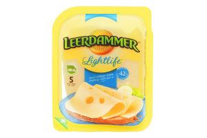 Сир 42% твердий Lightlife Leerdammer п/у 100г