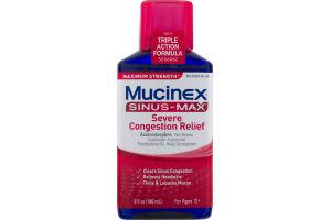 Mucinex Sinus-Max Severe Congestion Relief