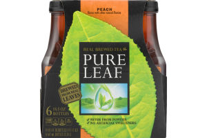 Pure Leaf Real Brewed Tea Peach - 6 PK
