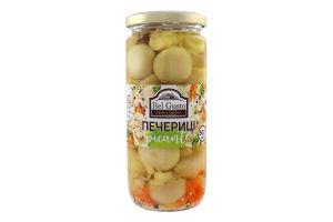 Шампиньоны маринованные целые с овощами Bel Gusto с/б 500мл