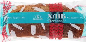 Хлеб Гречневый Цар хліб м/у 0.35кг