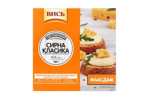 Сыр плавленый 60% пастообразный Маасдам Вись п/у 160г